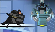 Batman vs Mr Freeze